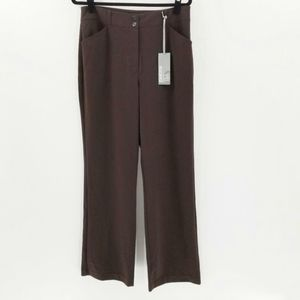 Chico's Emma RG Dress Pants in Chocolate